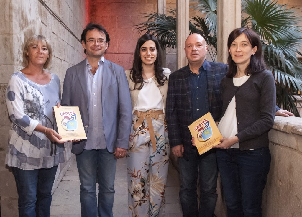 Presentació Capità 47 - IEI - Montse Macià, Alfons Reverté, Laura Bernis, Albert Guinovart, Eulàlia Pagès