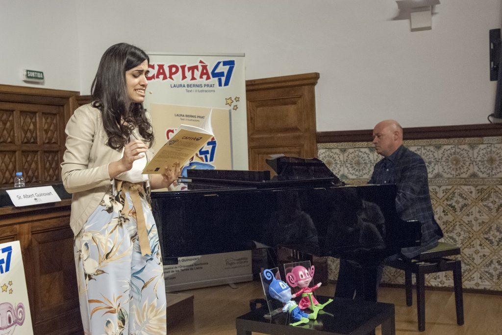 Presentació Capità 47 - IEI - Actuació Laura Bernis i Albert Guinovart
