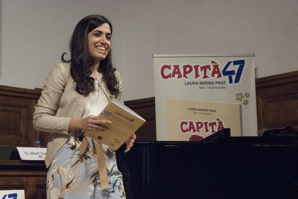 Presentació Capità 47 - IEI - Actuació Laura Bernis