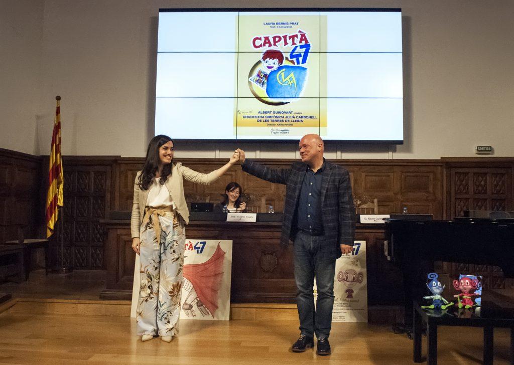 Presentació Capità 47 - IEI - Laura Bernis i Albert Guinovart