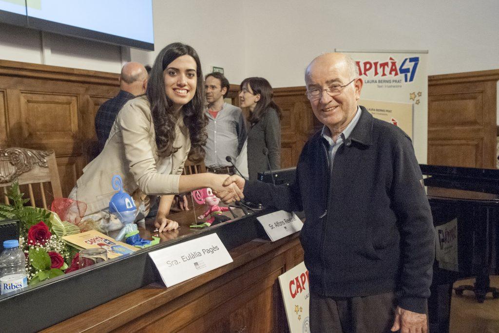 Presentació Capità 47 - IEI - Laura Bernis i Lluís Pagès
